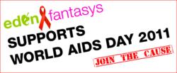 EdenFantasys Supports World AIDS Day