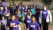 Kids running their 100 miles