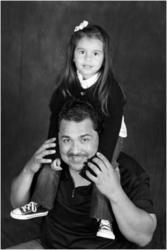 Professional Baseball Player Eddie Guardado, Daughter Ava