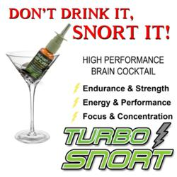 Turbo Snort Caffeinated Nasal Spray