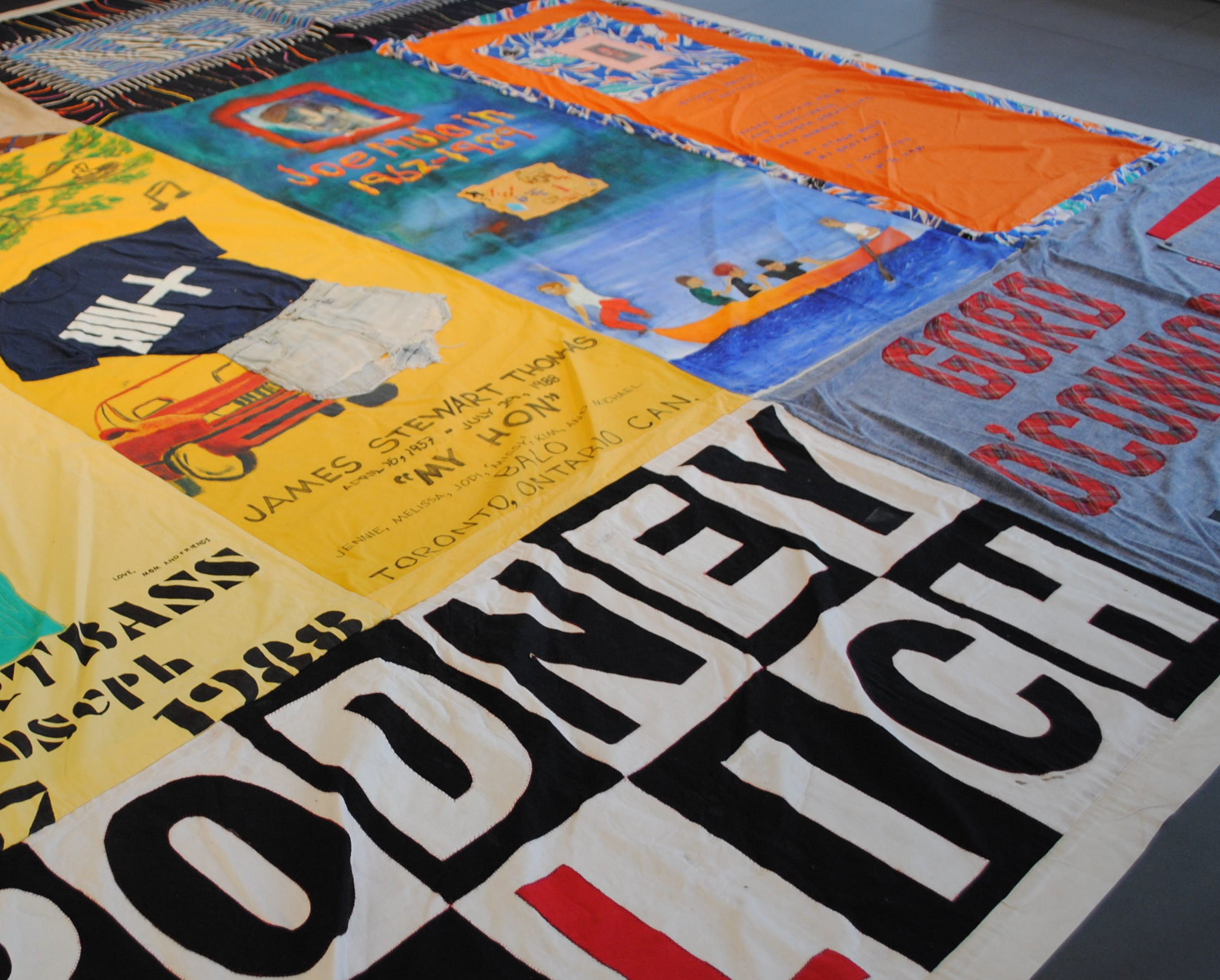 AIDS Memorial Quilt on Display at the Museum of Sex to Commemorate ... : world aids day quilt - Adamdwight.com