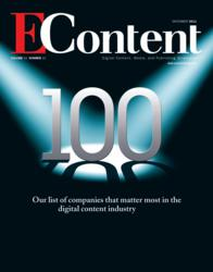 EContent 100 - Our list of companies that matter most in the digital content industry