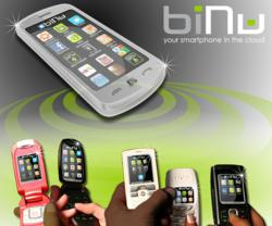 biNu Your Smartphone In the Cloud