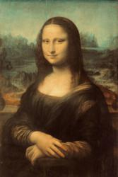 The original Mona Lisa by Leonardo da Vinci