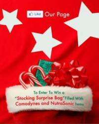 Comodynes and Nutrasonic Facebook Sweepstake