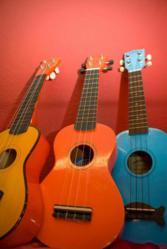 ukuleles at Musik Haus