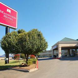 Magnuson Hotel & Meridian Convention Center.