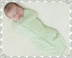 Womb-like swaddle can help baby sleep