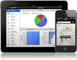 Mobile CRM for iPhone and iPad