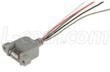 """USB 2.0 Side-Flange Mount Jack to 24"""" Wire Leads"""