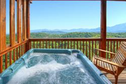 Smoky Mountain Cabin Rental View