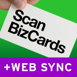 ScanBizCards is available now on the App Store and Android Market