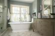 St. Paul Master Bathroom Award Winning Interior Design by LiLu Interiors