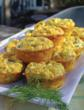 Cheddar and Smoked Salmon Mini Frittatas