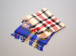 Cashmere Plaid Scarves from HOP