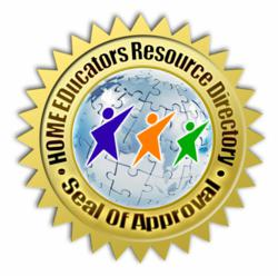 Home Educators Resource Award Seal