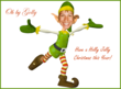Jolly Elf Cut Out