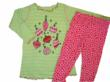 MisTeeVUs Christmas Ornament Tunic Top with Hot Pink Polka Dot Leggings