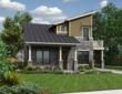 Contemporary two-story green house plan from Green Builder House Plans.