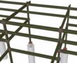 ConX Industrial Pipe Rack