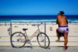Bondi Beach Lifestyle of Sport, Fun and Fitness at bondi, bondi beach sydney nsw Australia