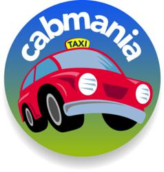 cabmania online taxi booking website logo