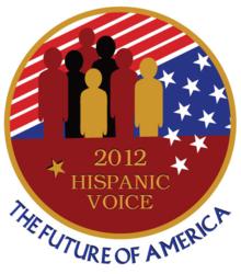 2012 Hispanic Voice Logo