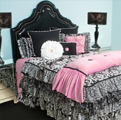 Girls Yin & Yang Bed Linens from Rogue Designs