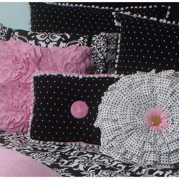 Peace, Love & Decorating Adds Rogue Designs Girls Bedding ...