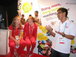 IOC teams up with Red Cross movement to promote peace and youth engagement in communities
