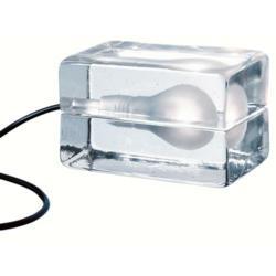Block lamp designed by Harri Koskinen.