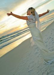 Florida Beach Wedding Bride