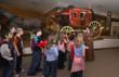 School groups at the Buffalo Bill Historical Center learn about the West.