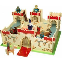 Wooden castle bigjigs