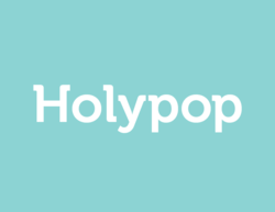 Holypop.com has relaunched its brand with a new logo