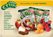 Brothers-All-Natural® Fruit Crisps come in 10 varieties including Apple, Cinnamon-Apple, Strawberry-Banana, Pear, Pineapple, Peach and Mandarin Orange. Crispy and cruchy fruit.