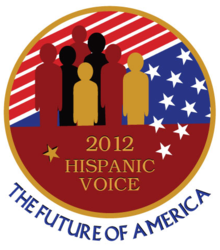 2012 Hispanic Voice Logo