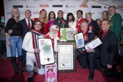 Los Angeles Mayor Proclaiming Hollywood Christmas Parade Day