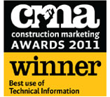 Optima win at the Construction Marketing Awards