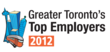 The Top Employers in the GTA 2012