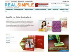 Digital Greeting Cards on RealSimple.com