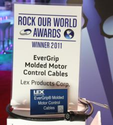 EverGrip Molded Motor Control Cables on Display at the LDI 2011 Tradeshow