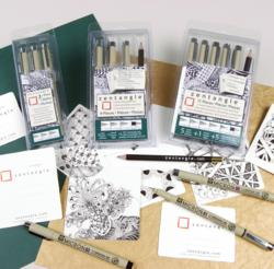 Zentangle Pigma Micron pen sets