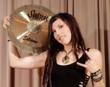 Soultone Cymbals artist, Veronica Bellino - Drummer with Jeff Beck