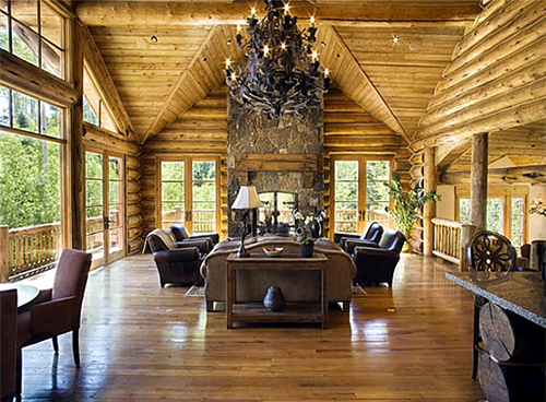 23 million telluride colorado home offered as rental for Telluride cabin rental