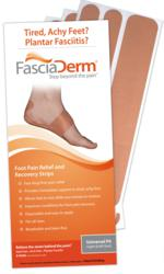FasciaDerm Foot Support System for Heel Pain Associated with Plantar Fasciitis