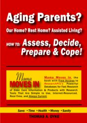 New Cover for Mama Moves In Making the Message for Elder Care Providers Obvious