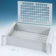 "COMBIMET 19"" rack mount enclosures are available with or without ventilated top and base panels"