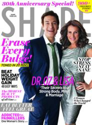 Shape Magazine 30th Anniversary Cover December 2011