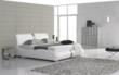 Krah Modern Leather Bed Frame from ShipAroom.com